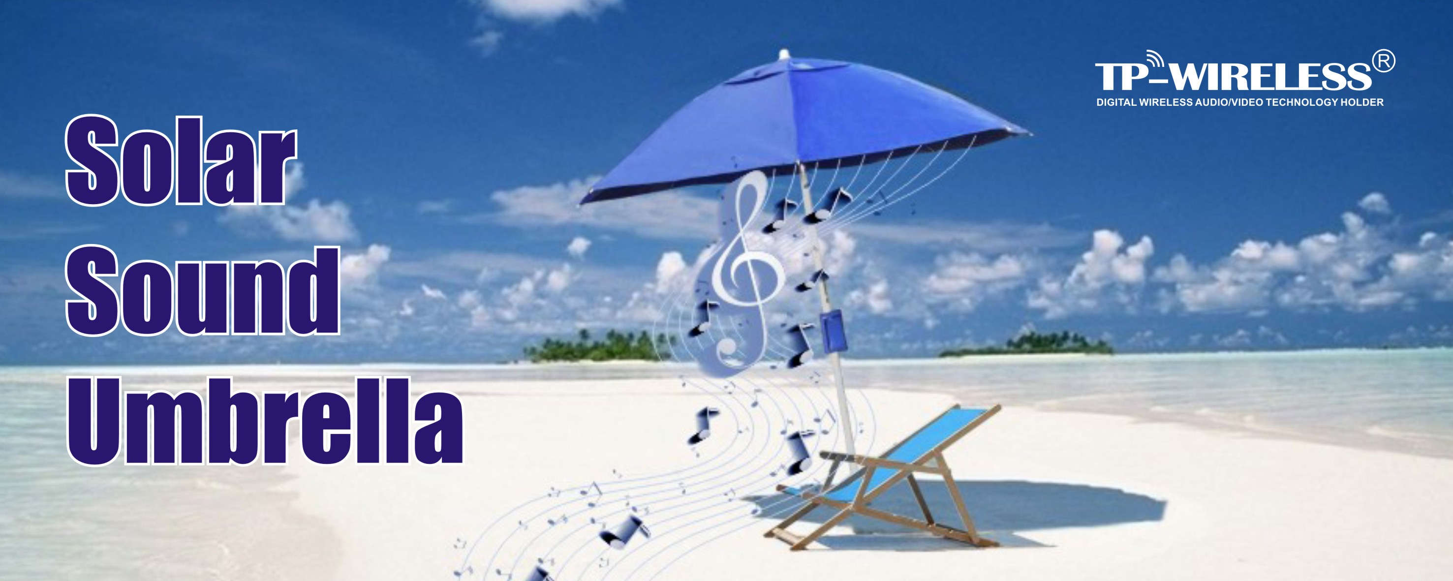 Smart Solar Sound Umbrella
